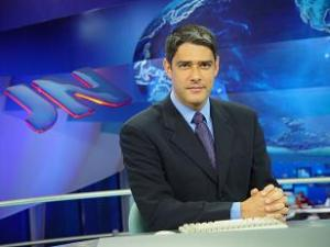 William Bonner no Jornal Nacional