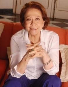 Fernanda Montenegro feliz