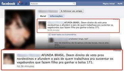 Regionalismo preconceituoso no Facebook