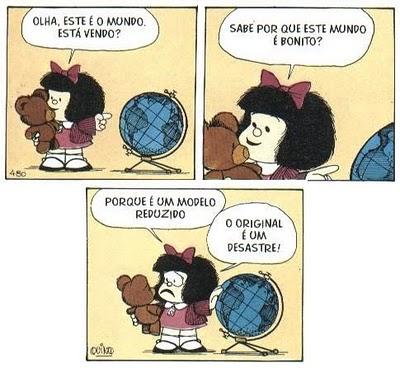 Charge - Mafalda