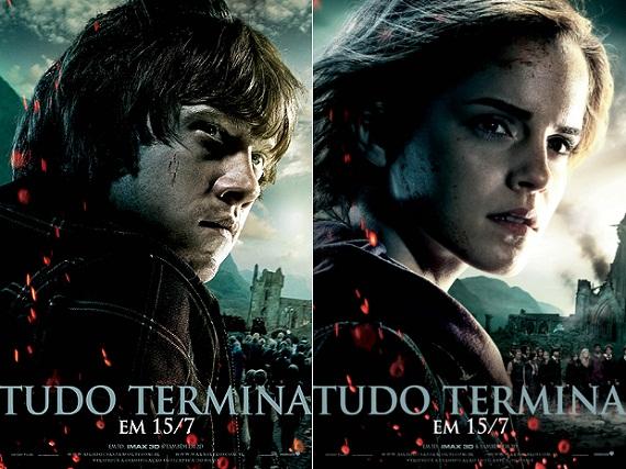 Pôsteres nacionais de Harry Potter