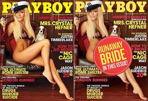Crystal Harris capa da Playboy