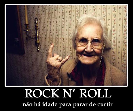 Rock não tem idade