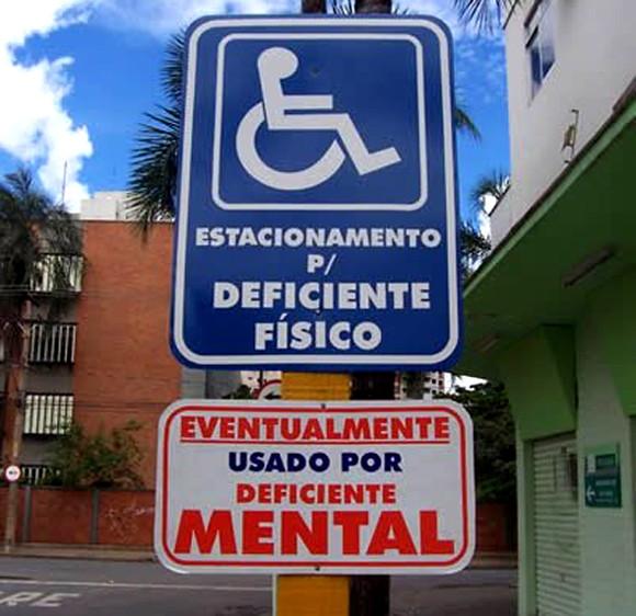 Vaga para deficiente mental
