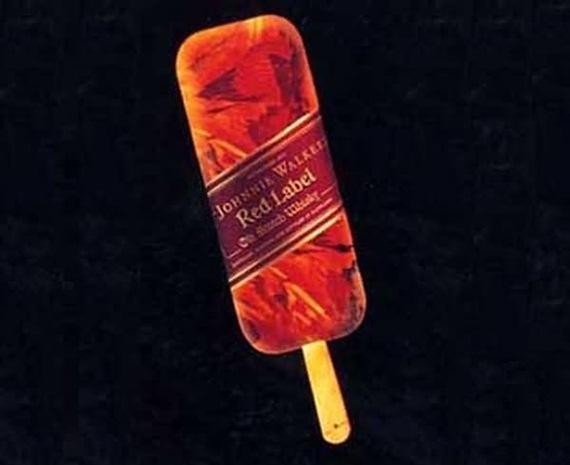 Sorvete Johnnie Walker Red Label