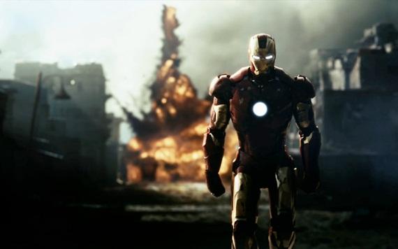 Home de ferro sem olhar explosão
